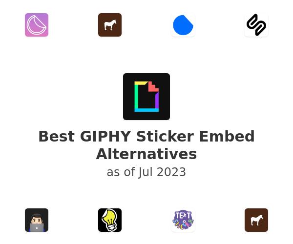 Best GIPHY Sticker Embed Alternatives