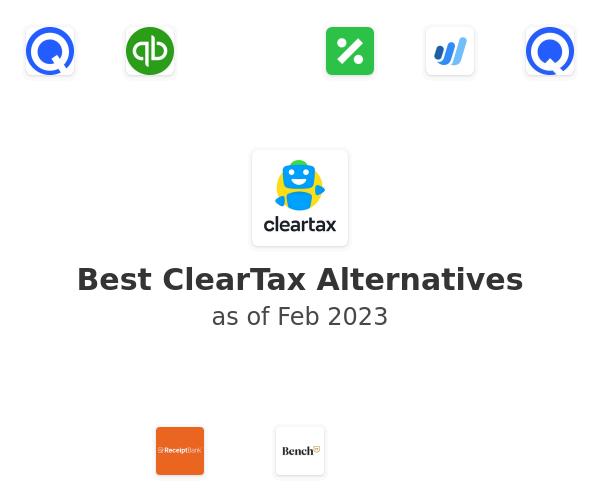 Best ClearTax Alternatives