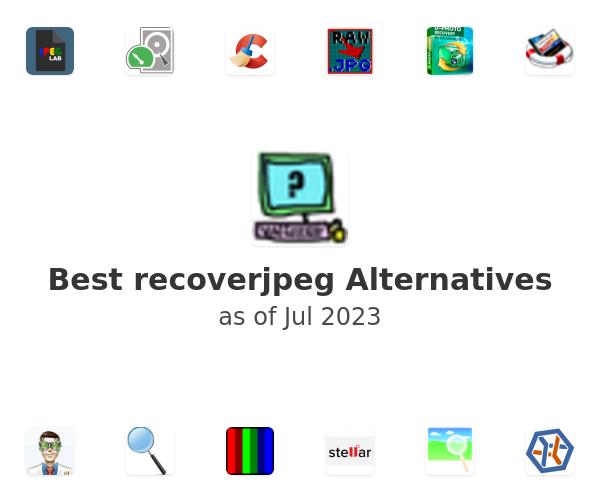 Best recoverjpeg Alternatives