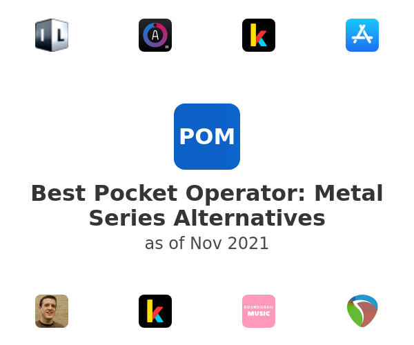 Best Pocket Operator: Metal Series Alternatives