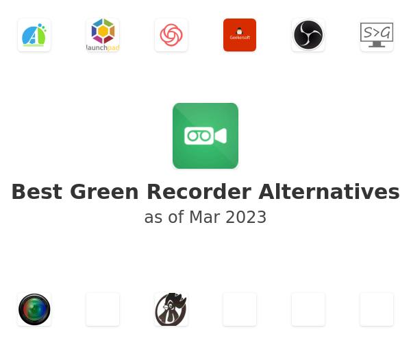 Best Green Recorder Alternatives