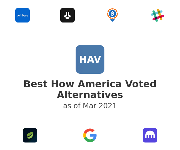 Best How America Voted Alternatives