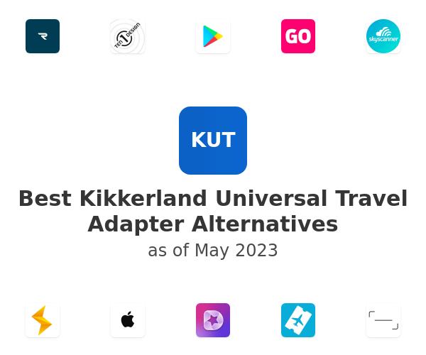 Best Kikkerland Universal Travel Adapter Alternatives