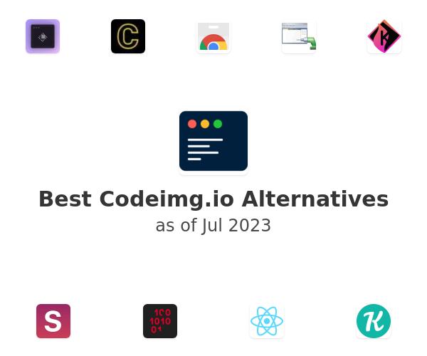 Best Codeimg.io Alternatives
