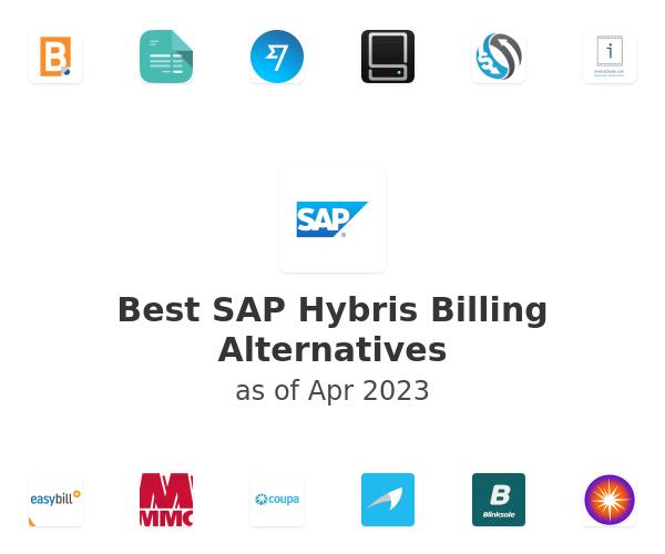 Best SAP Hybris Billing Alternatives