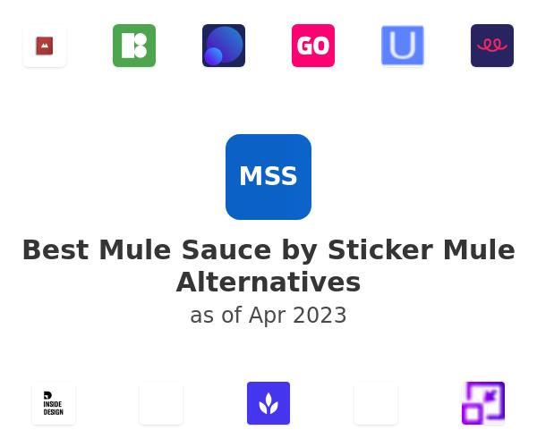 Best Mule Sauce by Sticker Mule Alternatives