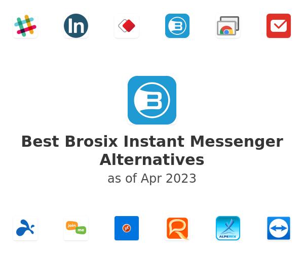 Best Brosix Instant Messenger Alternatives