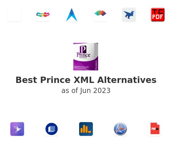Best Prince XML Alternatives