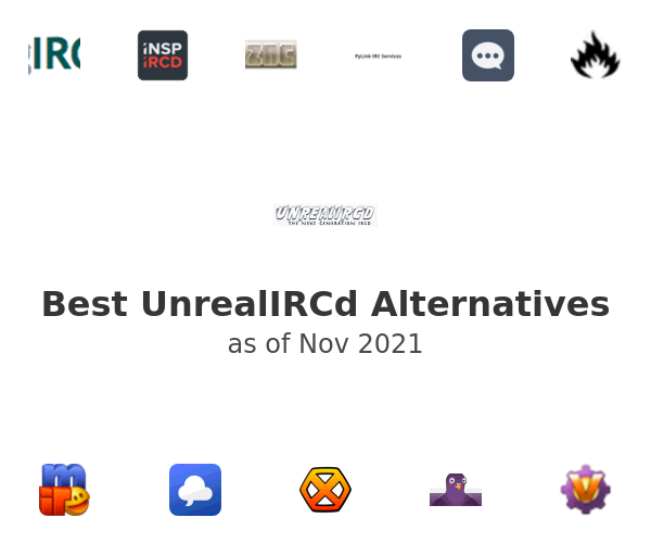 Best UnrealIRCd Alternatives