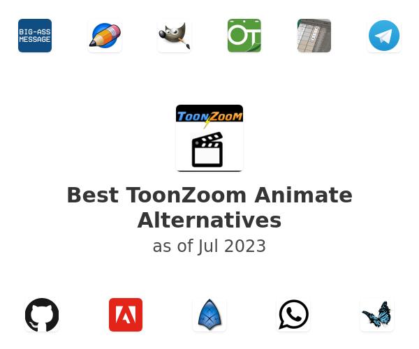 Best ToonZoom Animate Alternatives