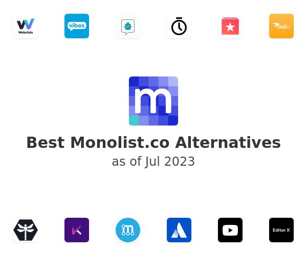 Best Monolist.co Alternatives