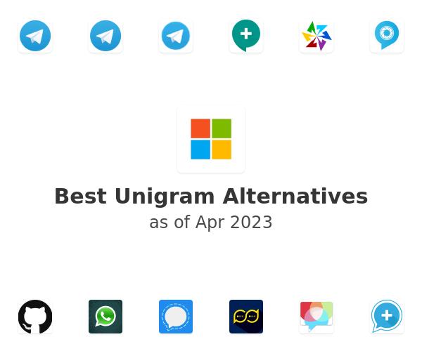 Best Unigram Alternatives