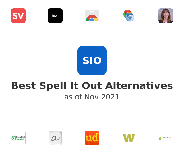 Best Spell It Out Alternatives