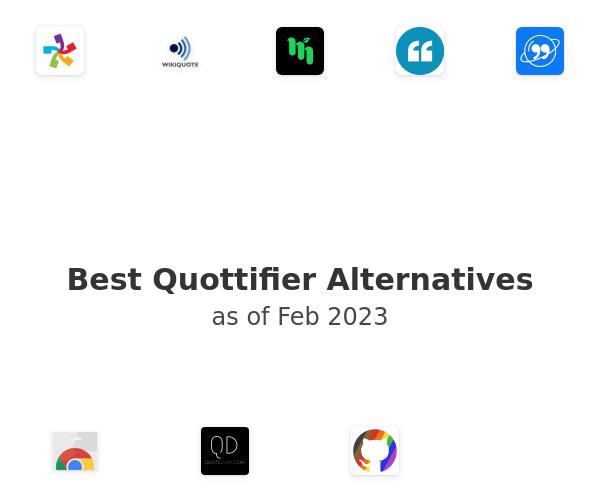 Best Quottifier Alternatives