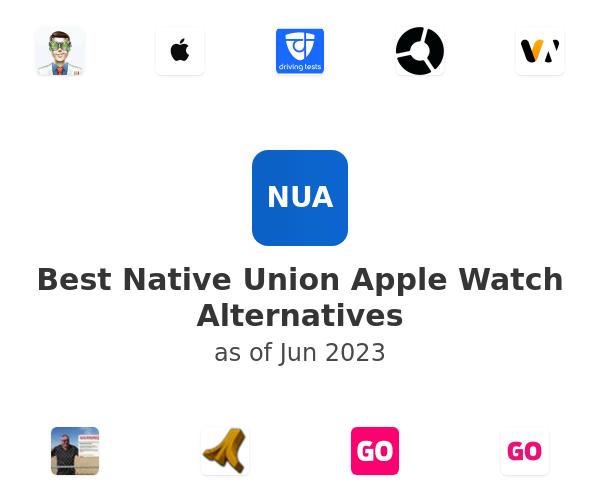 Best Native Union Apple Watch Alternatives