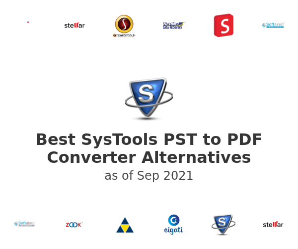Best SysTools PST to PDF Converter Alternatives