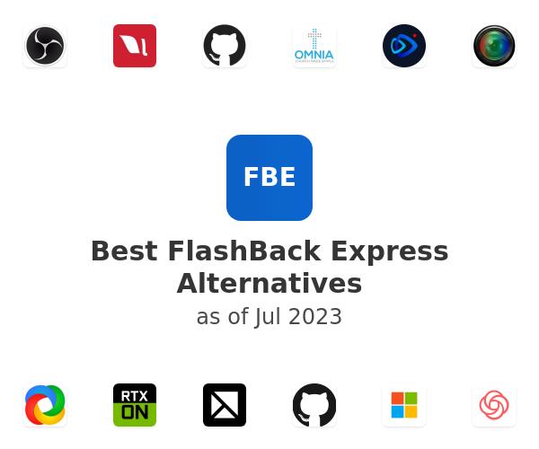 Best FlashBack Express Alternatives