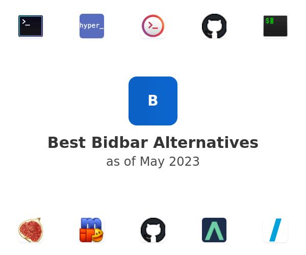 Best Bidbar Alternatives