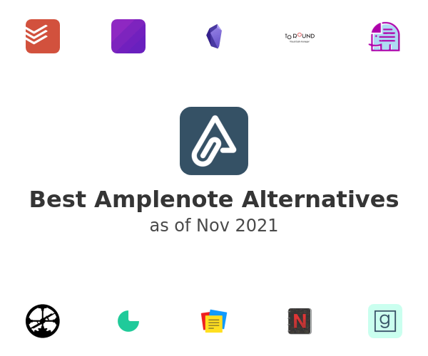 Best Amplenote Alternatives