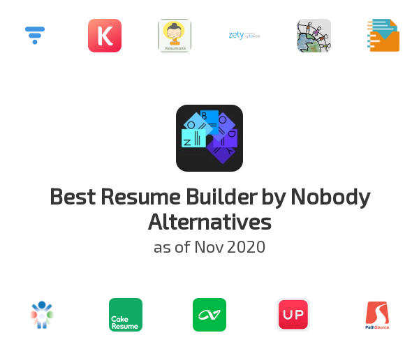 Best Resume Builder by Nobody Alternatives
