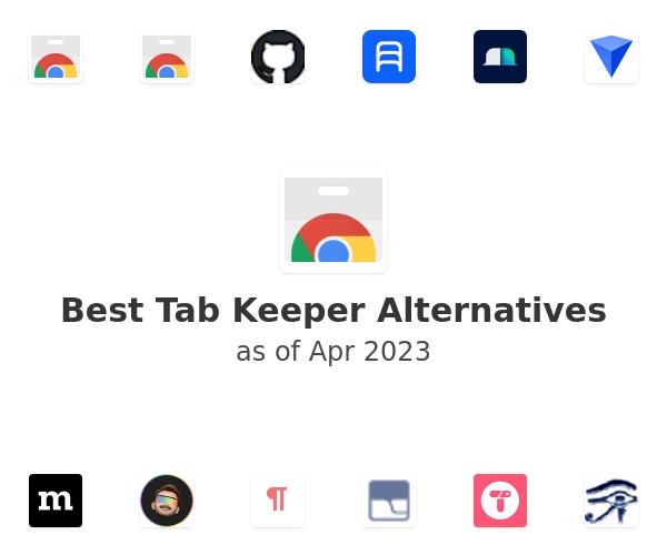 Best Tab Keeper Alternatives