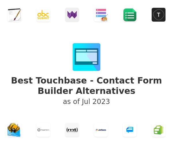 Best Touchbase - Contact Form Builder Alternatives