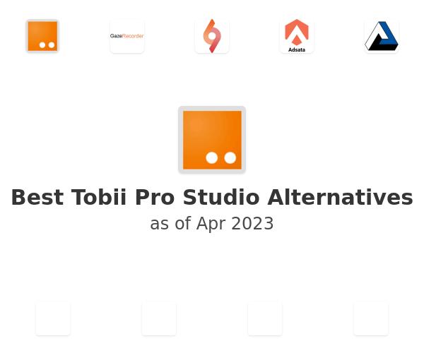 Best Tobii Pro Studio Alternatives