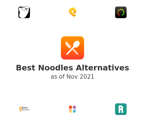 Best Noodles Alternatives
