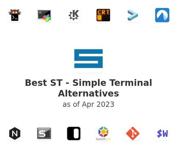 Best ST - Simple Terminal Alternatives