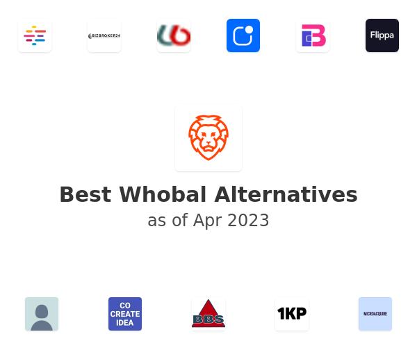 Best Whobal Alternatives