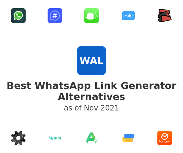Best WhatsApp Link Generator Alternatives