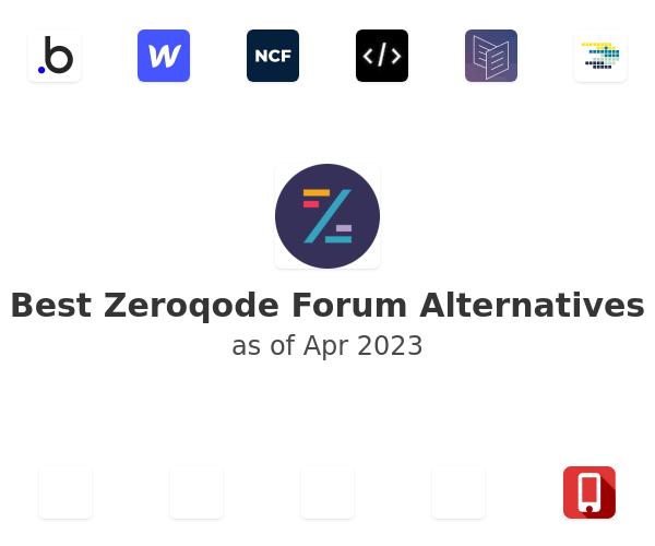 Best Zeroqode Forum Alternatives