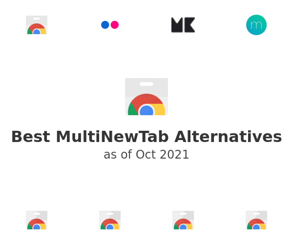 Best MultiNewTab Alternatives