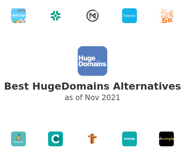 Best HugeDomains Alternatives