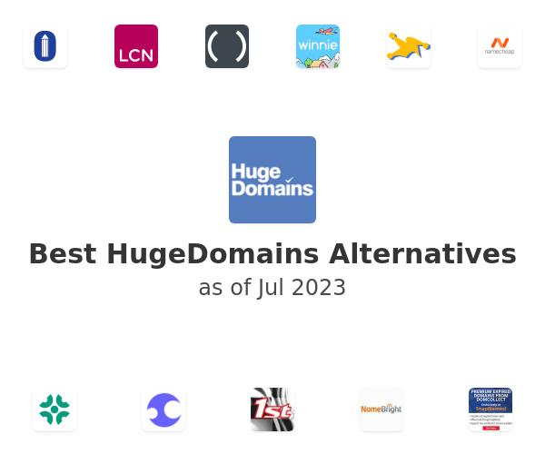 Best HugeDomains Alternatives