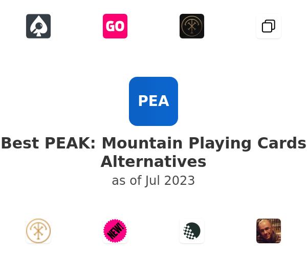 Best PEAK: Mountain Playing Cards Alternatives