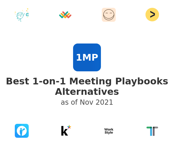 Best 1-on-1 Meeting Playbooks Alternatives