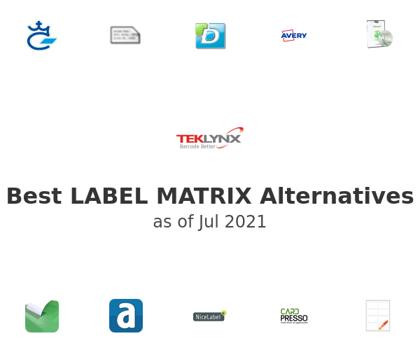 Best LABEL MATRIX Alternatives