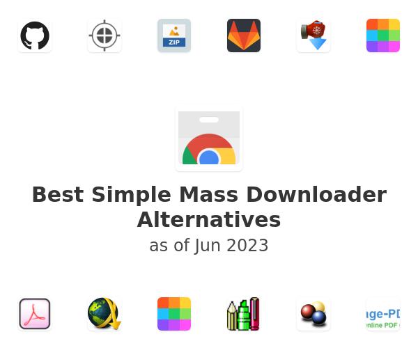 Best Simple Mass Downloader Alternatives
