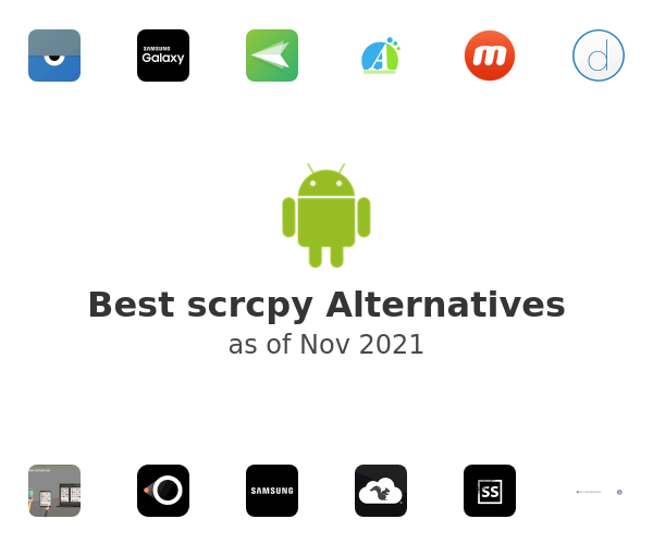 Best scrcpy Alternatives