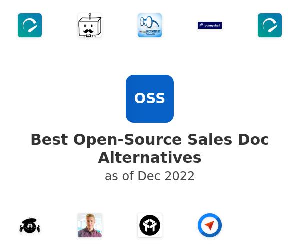 Best Open-Source Sales Doc Alternatives