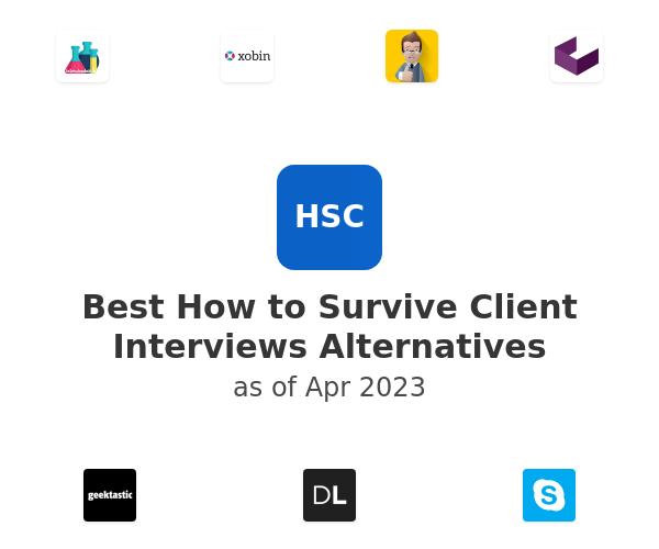 Best How to Survive Client Interviews Alternatives