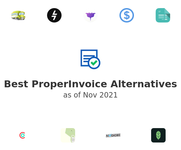 Best ProperInvoice Alternatives