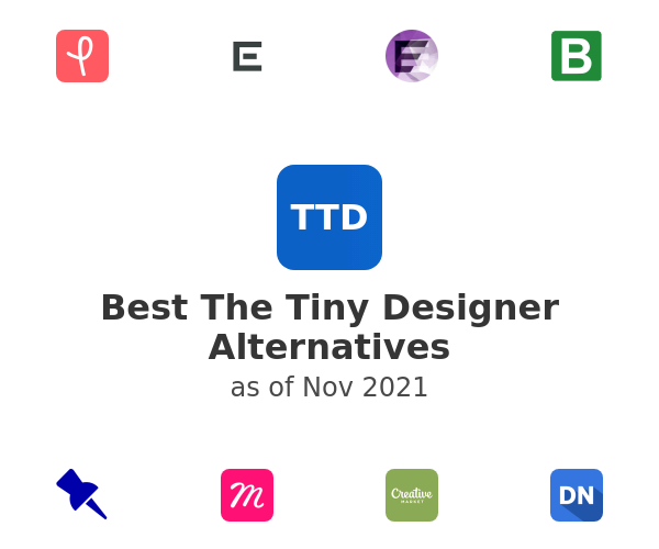 Best The Tiny Designer Alternatives