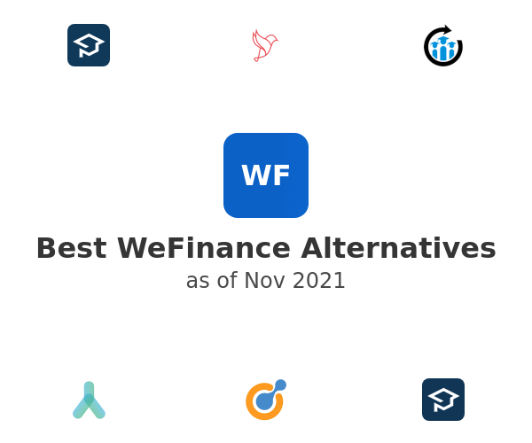 Best WeFinance Alternatives