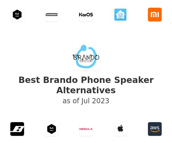 Best Brando Phone Speaker Alternatives