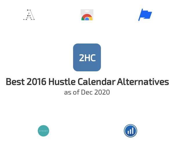 Best 2016 Hustle Calendar Alternatives