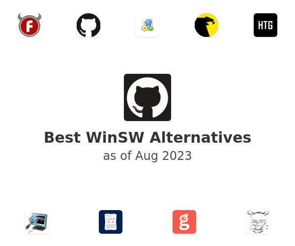 Best WinSW Alternatives