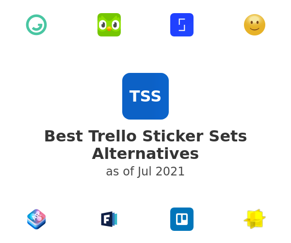 Best Trello Sticker Sets Alternatives