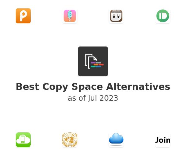 Best Copy Space Alternatives